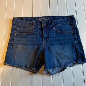American Eagle Outfitters Jean Shorts Cutoffs 10